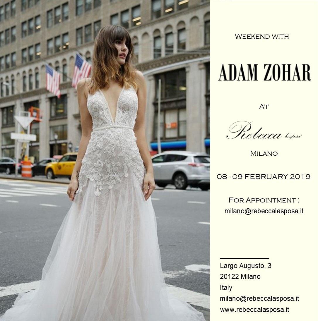 Adam Zohar - Rebecca la sposa 02/19