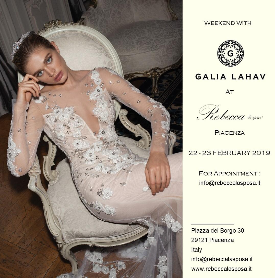 Rebecca la sposa - Galia Lahav 02/19