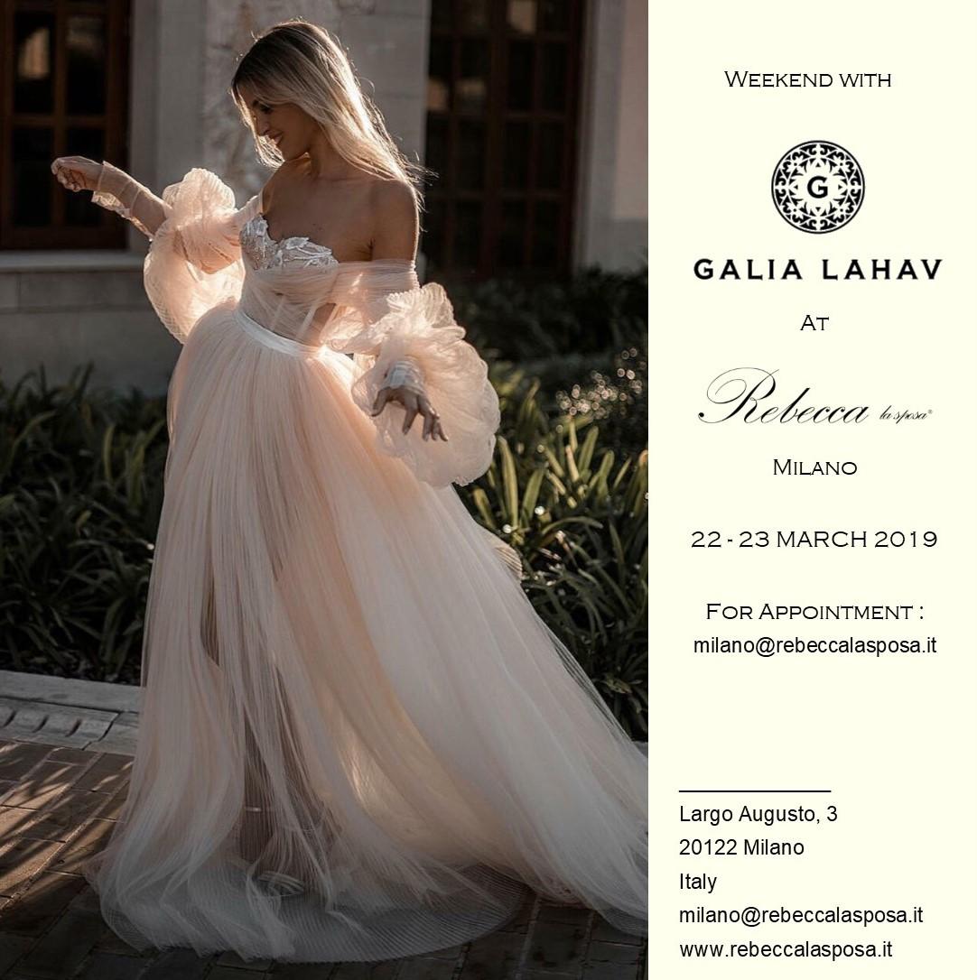 Rebecca la sposa - Galia Lahav 03/19