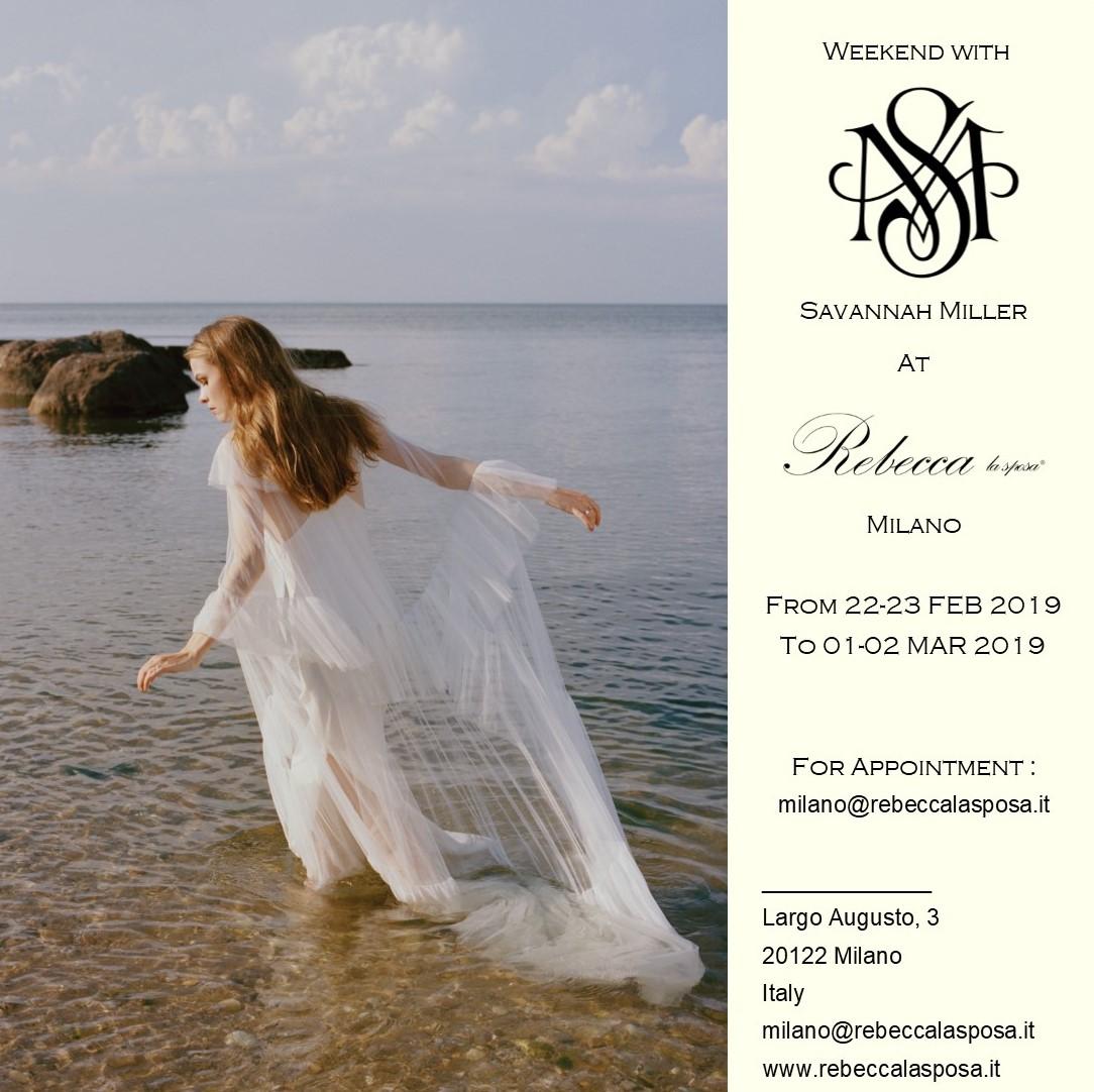 Rebecca la sposa - Savannah Miller 02/19