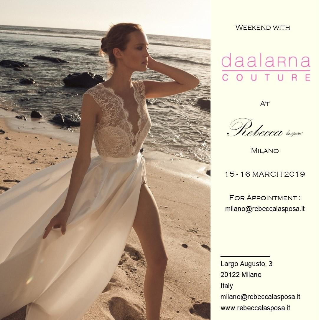 Rebecca la sposa - Daalarna Couture 03/19