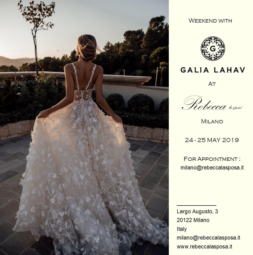 Rebecca la sposa - Galia Lahav 24-25 Maggio 2019