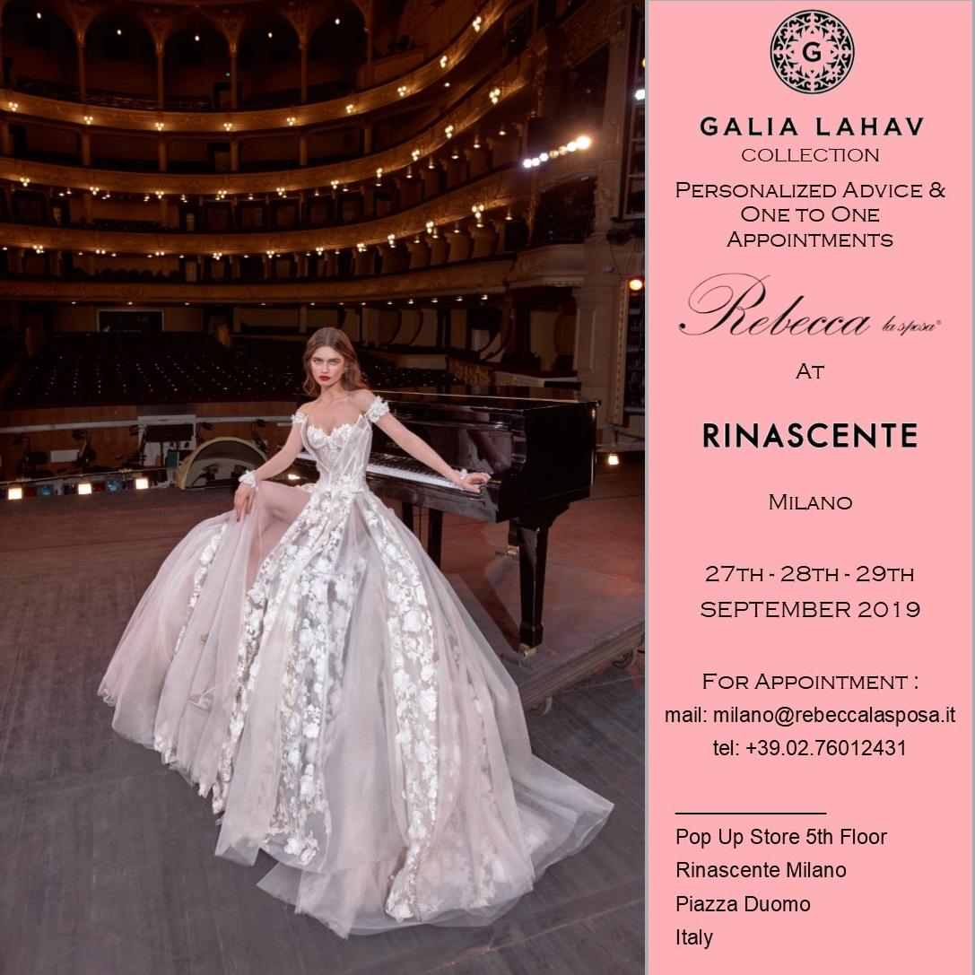 Rebecca la sposa - Galia Lahav 27-28-29 Settembre 2019