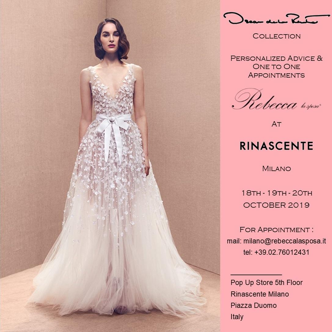 Rebecca la sposa - Oscar de la Renta 18-19-20 Ottobre 2019