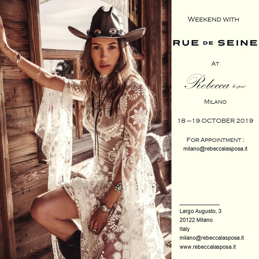 Rebecca la sposa - Rue de Seine 18-19 Ottobre 2019