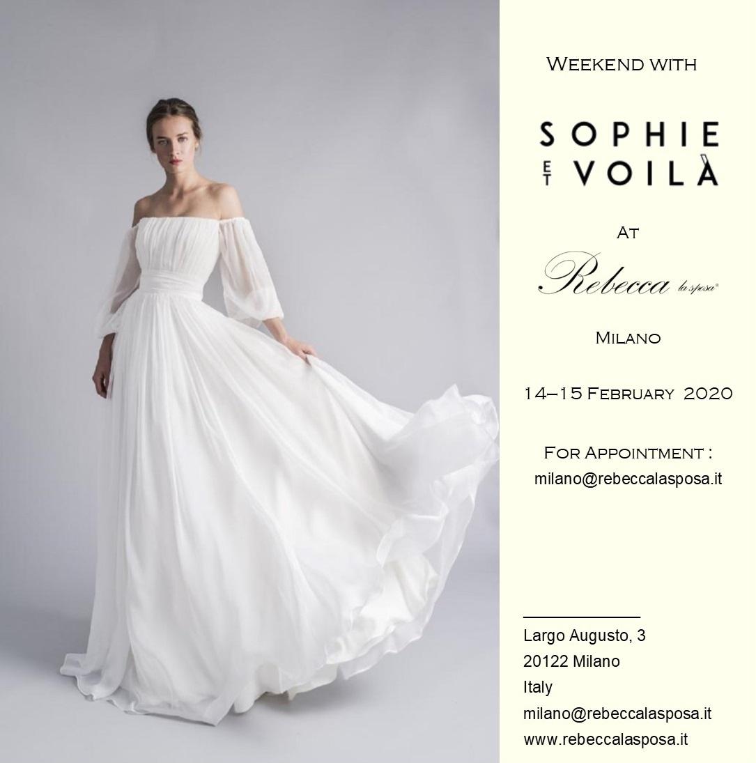 Rebecca la sposa - Sophie et Voila Febbraio 2020