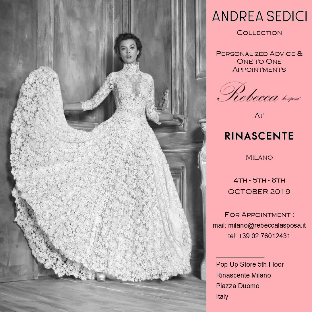 Rebecca la sposa - Andrea Sedici 04-05-06 Ottobre 2019