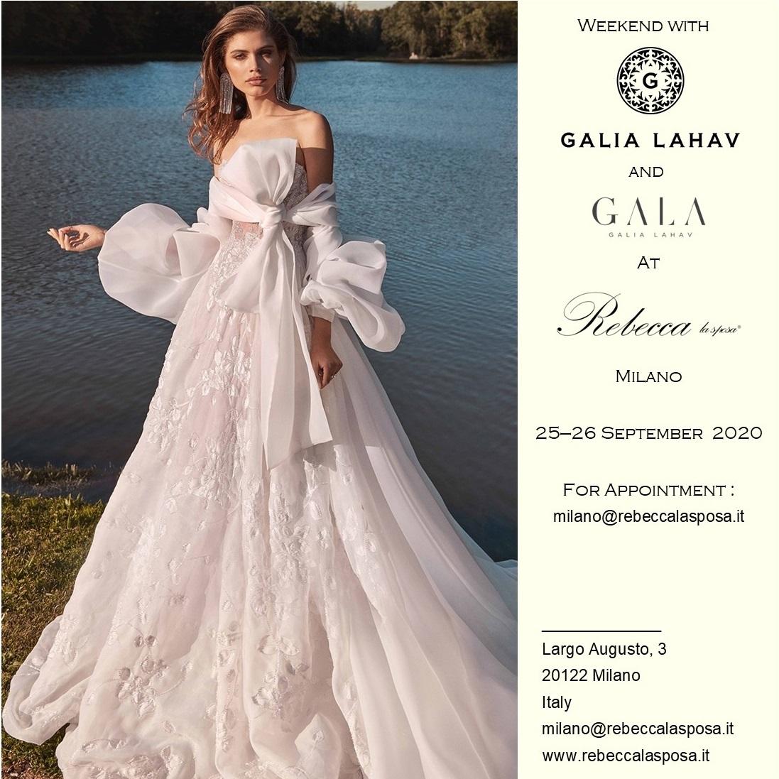 Rebecca la sposa - Galia Lahav Couture+Gala Settembre 2020