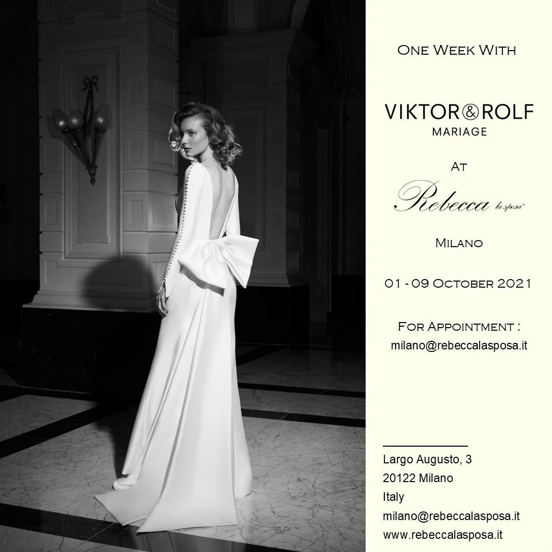 Rebecca la sposa - Viktor & Rolf